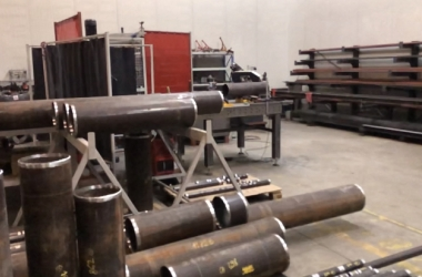 Prefabrication Piping Workshop is fully operational